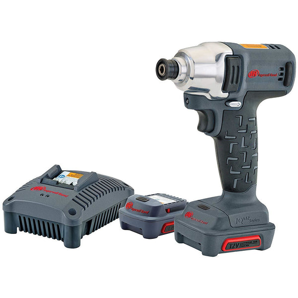 "Ingersoll Rand W1110-K2 1/4"" 12V Hex Quick-Change Impact Wrench Kit - Power Tool Traders"