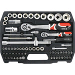 TOOL SET 82PC 1/4″ & 1/2″ - Power Tool Traders
