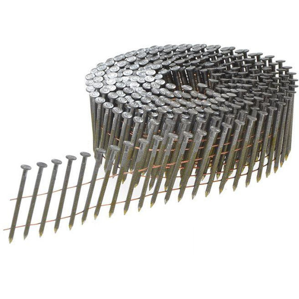 90MM X 3MM Coil Nails [4,500 Per Box] - Power Tool Traders