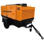 DT-50D DETROIT PORTABLE SCREW 60KW 177CFM 0.8MPa 4BTA3.9-C80 CUMMINS ENGINE - Power Tool Traders