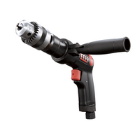 "1/2"" Industrial Air Reversible Drill With Key Chuck - Power Tool Traders"