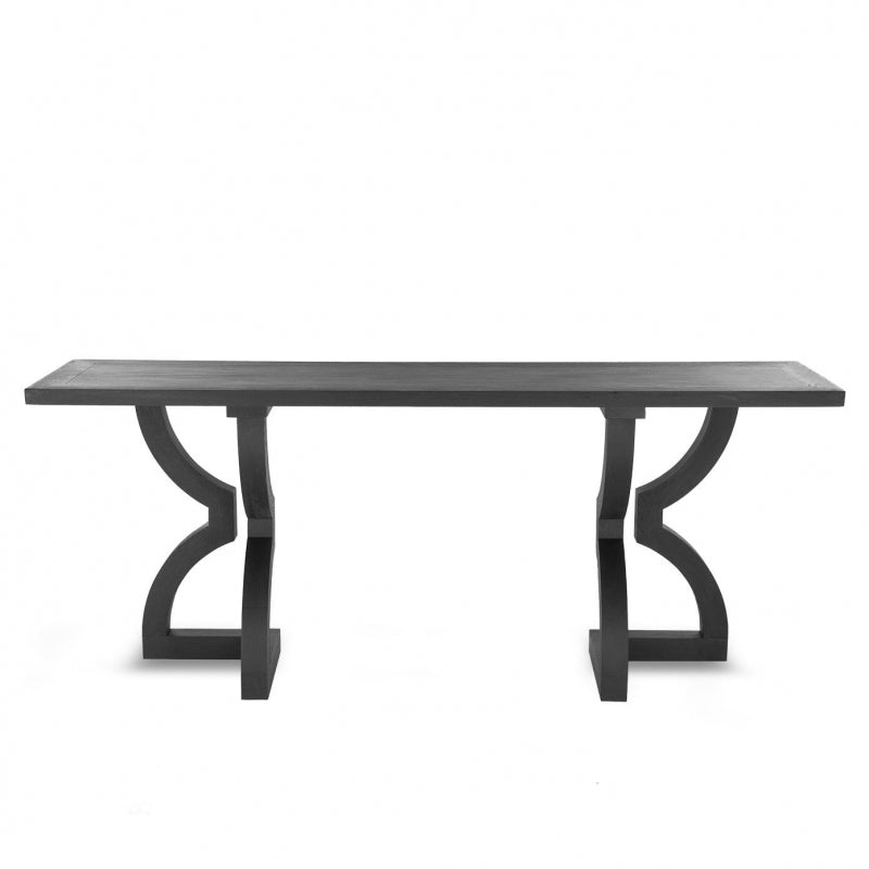 Theodore Console | Satin Black Oak