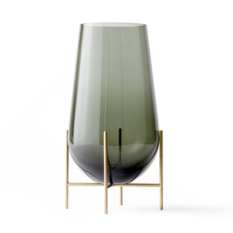 Echasse Vase | Medium | Smoke