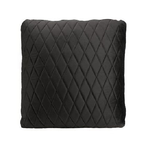 Coco Velvet Cushion | Black