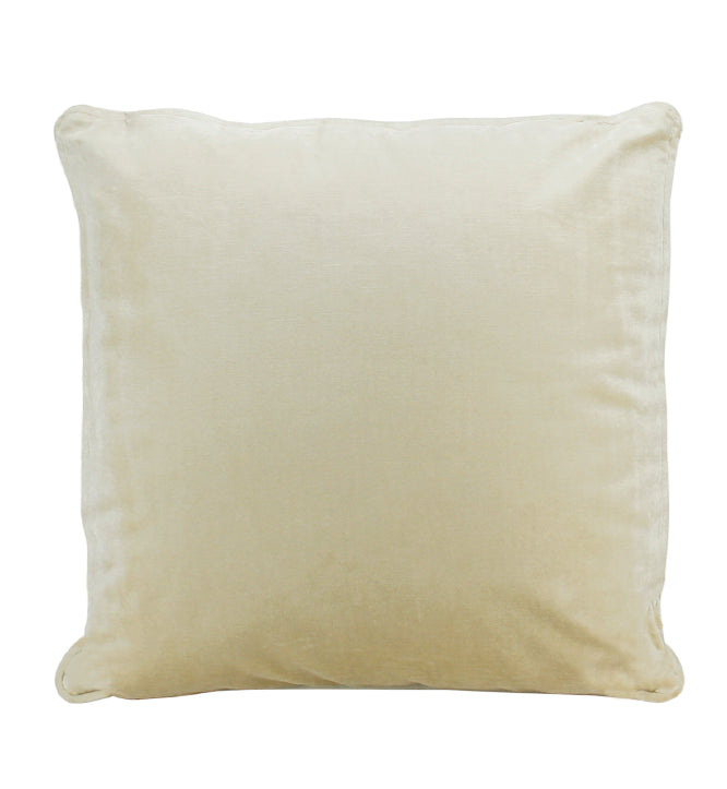 Soho Velvet Cushion | Champagne
