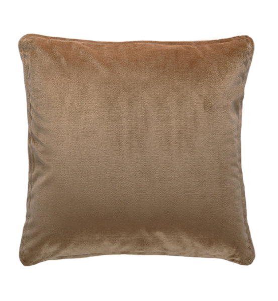 Soho Velvet Cushion | Stone