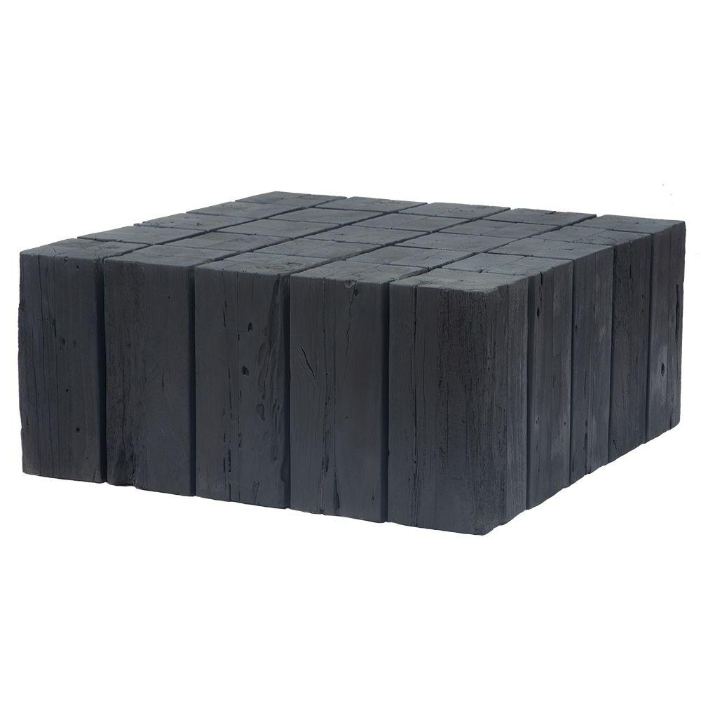Hamali Block Coffee Table | Charred