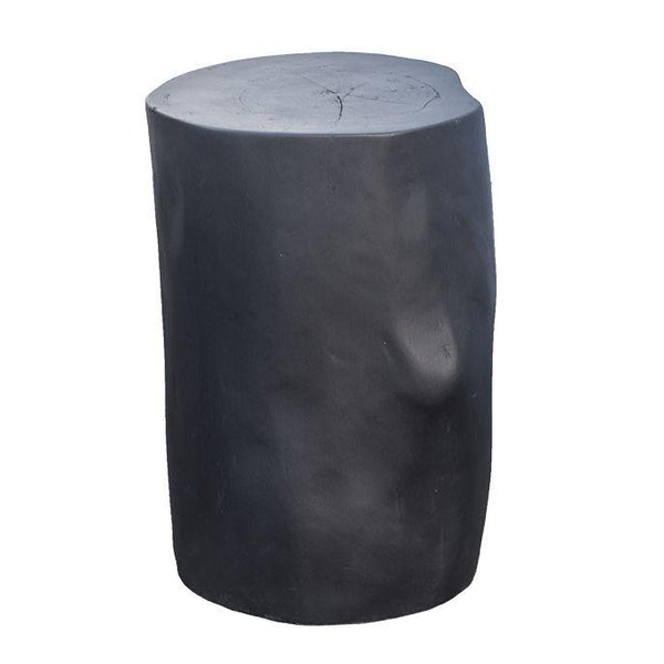 Log Stool | Black