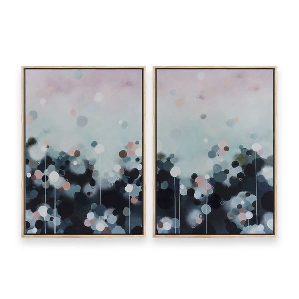 Nebula Haze Diptych Pair | Limited Edition Print on Canvas | Jessie Rigby