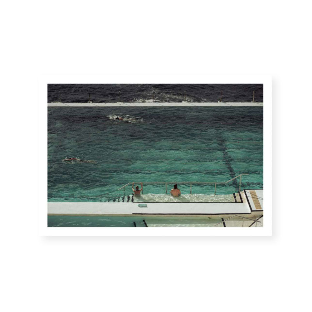 Poolside | Limited Edition Art Print | Benny Dilger