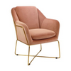 Milan Armchair - Blush