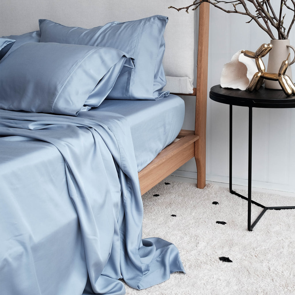 100% Organic Bamboo Sheet Set | Chambray