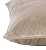 Soho Velvet Cushion | Smoke Grey