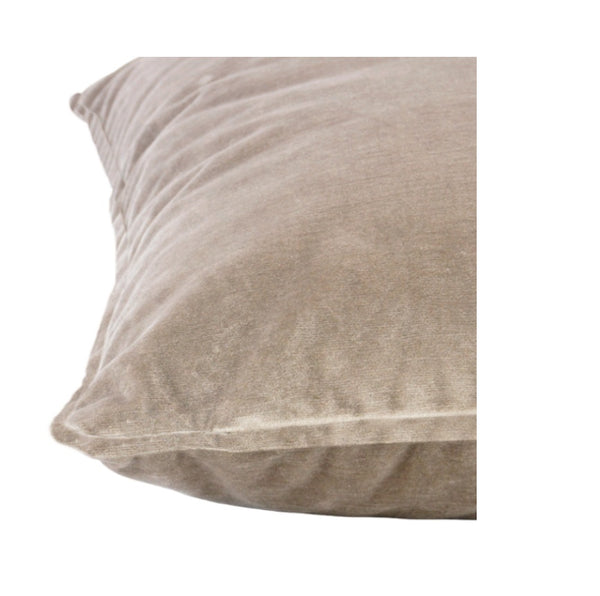 Soho Velvet Lumbar Cushion | Smoke Grey