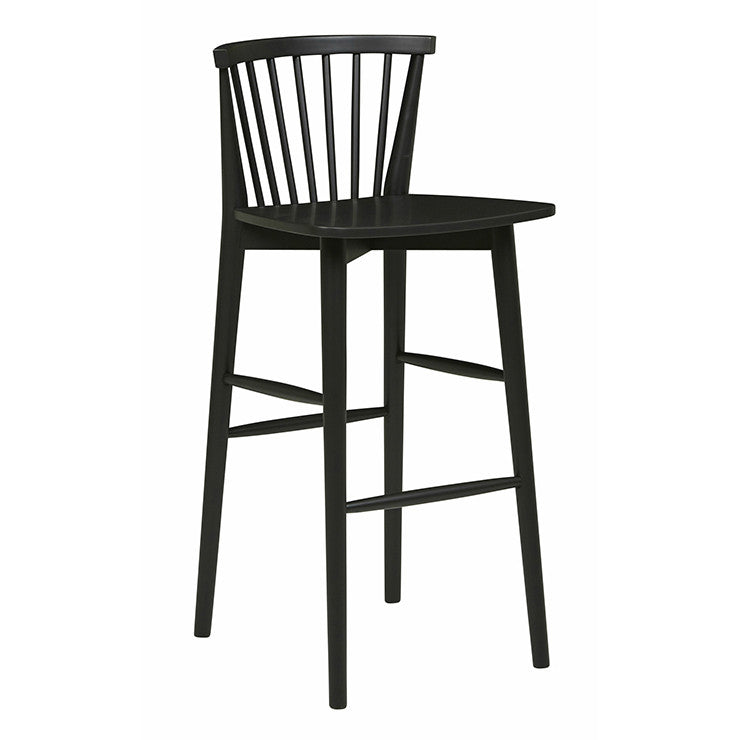 Sketch Requin Barstool | Charcoal