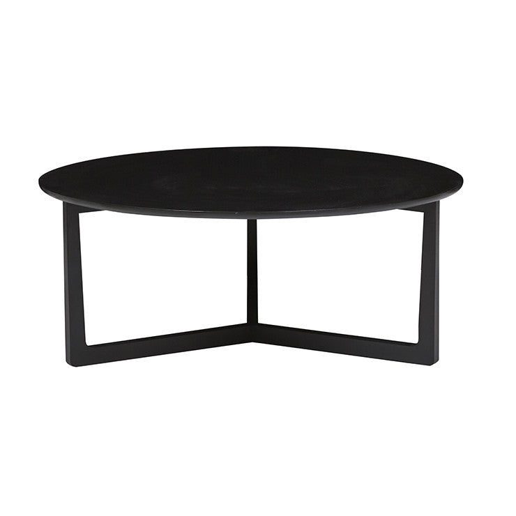 Geo Round Coffee Table | Charcoal