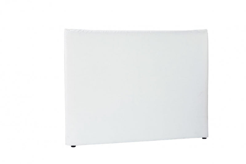 White Linen Slip Cover Bed Head | King