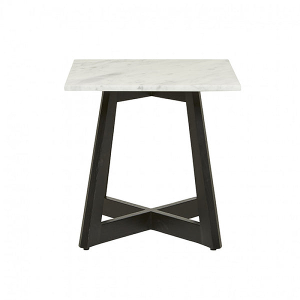Sloan Marble Side Table | Dark Wenge
