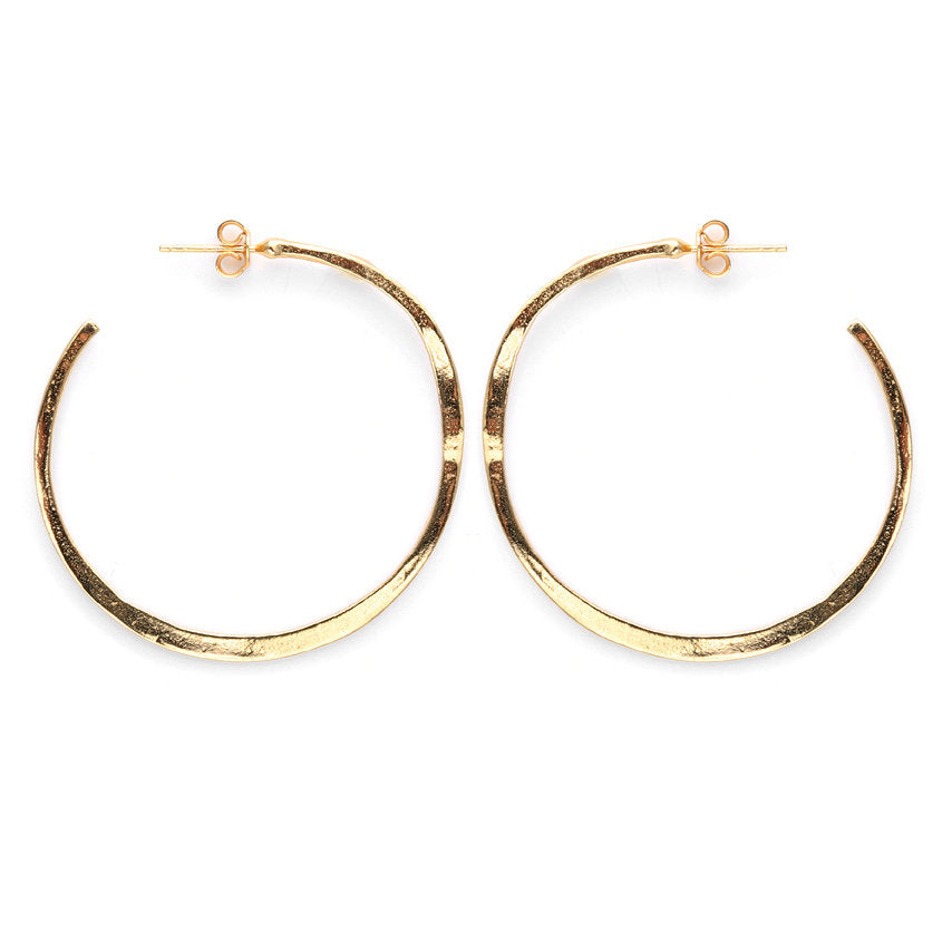Arc Hoops, Gold