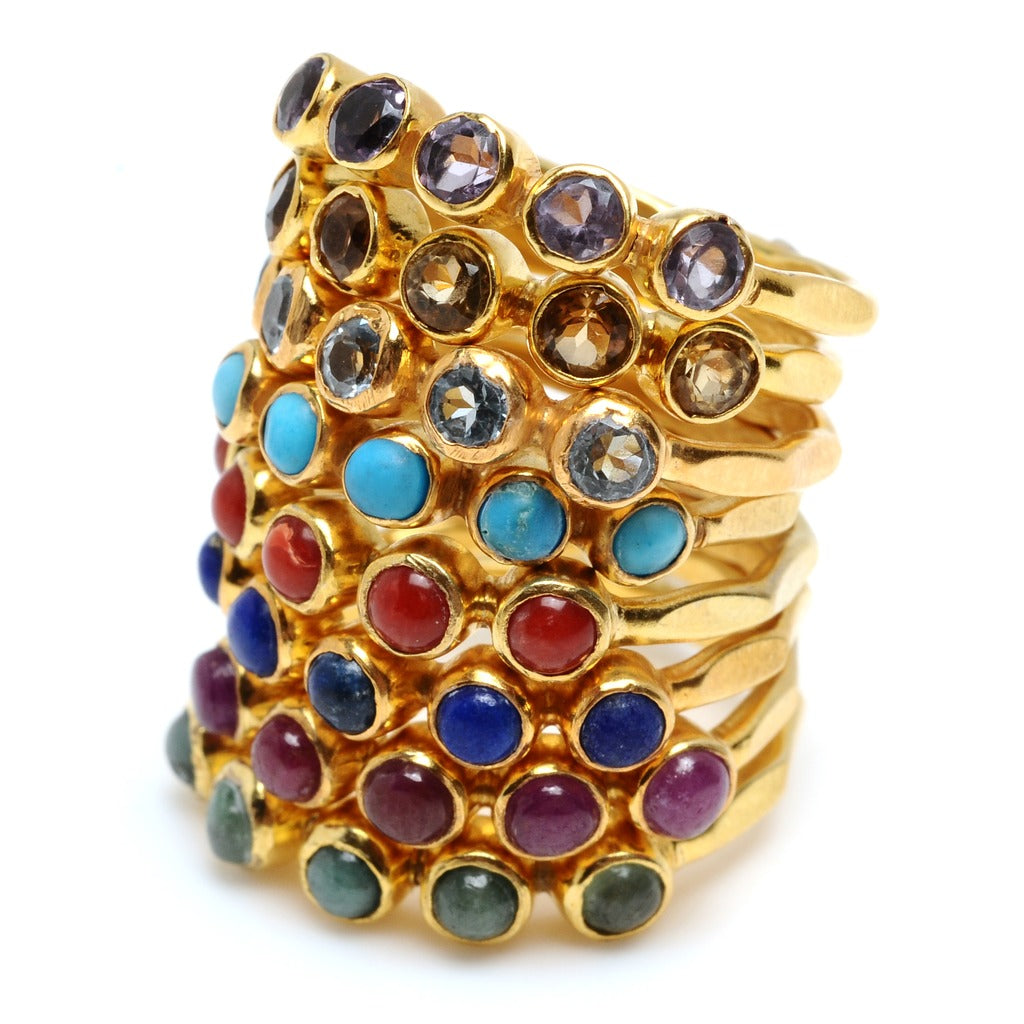 5 Set Ring, Assorted Colors