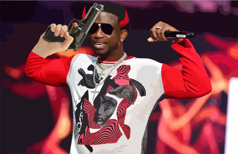 iPromoteViolence Gucci Mane T-Shirts, Hip Hop Clothing, Urban Clothing, Streetwear