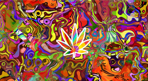 Psychedelic Weed T-Shirts, Hip Hop Clothing, Urban Clothing, Streetwear