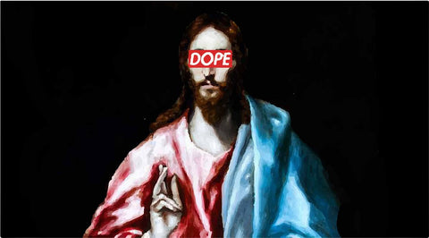 Christian DOPE Jesus T-Shirts, Hip Hop Clothing, Urban Clothing, Streetwear