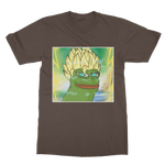 Brown Anime Super Saiyan PEPE MEME Dragon Ball Z Goku T-Shirt