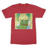 Red Anime Super Saiyan PEPE MEME Dragon Ball Z Goku T-Shirt