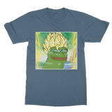 Indigo Blue Anime Super Saiyan PEPE MEME Dragon Ball Z Goku T-Shirt