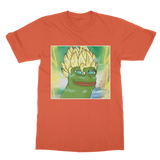 Orange Anime Super Saiyan PEPE MEME Dragon Ball Z Goku T-Shirt