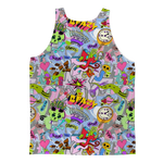 Urban Graffiti Tank Top