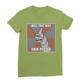 Kiwi Green That Was Onix-pected Pokemon T-Shirt