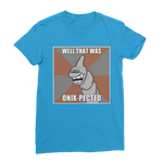 Sapphire Blue That Was Onix-pected Pokemon T-Shirt