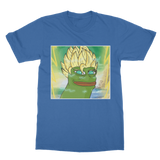 Royal Blue Anime Super Saiyan PEPE MEME Dragon Ball Z Goku T-Shirt