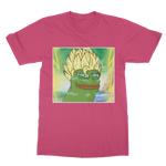 Hot Pink Anime Super Saiyan PEPE MEME Dragon Ball Z Goku T-Shirt