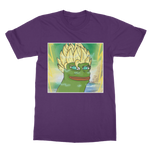 Purple Anime Super Saiyan PEPE MEME Dragon Ball Z Goku T-Shirt