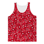 Red Bandana Blood Tank Tops