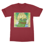 Cardinal Red Anime Super Saiyan PEPE MEME Dragon Ball Z Goku T-Shirt