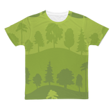 👕 Green Forest Trees T-Shirt - Men's Hip Hop T-Shirts | Hip Hop Clothing, Urban Clothing, Streetwear