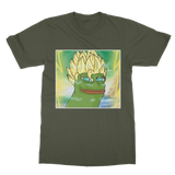Army Green Anime Super Saiyan PEPE MEME Dragon Ball Z Goku T-Shirt