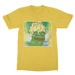 Daisy Yellow Anime Super Saiyan PEPE MEME Dragon Ball Z Goku T-Shirt