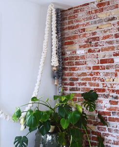 How -To:  Make a Chunky Macrame Pendant Light