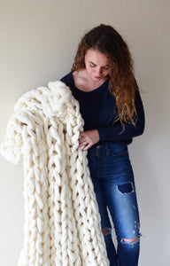 Ribbed Super Chunky Throw