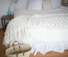 Super Chunky Braided Throw with Tassels