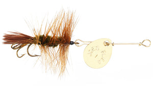 110 - Brown Hackle- Size #8