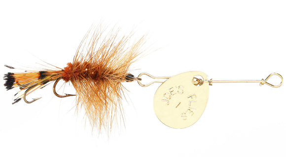 122 -  Brown Woolly Worm Size #8