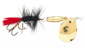 121 - Black Woolly Worm 1/4oz.