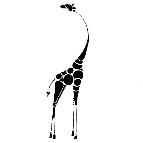 Abstract Giraffe - Print