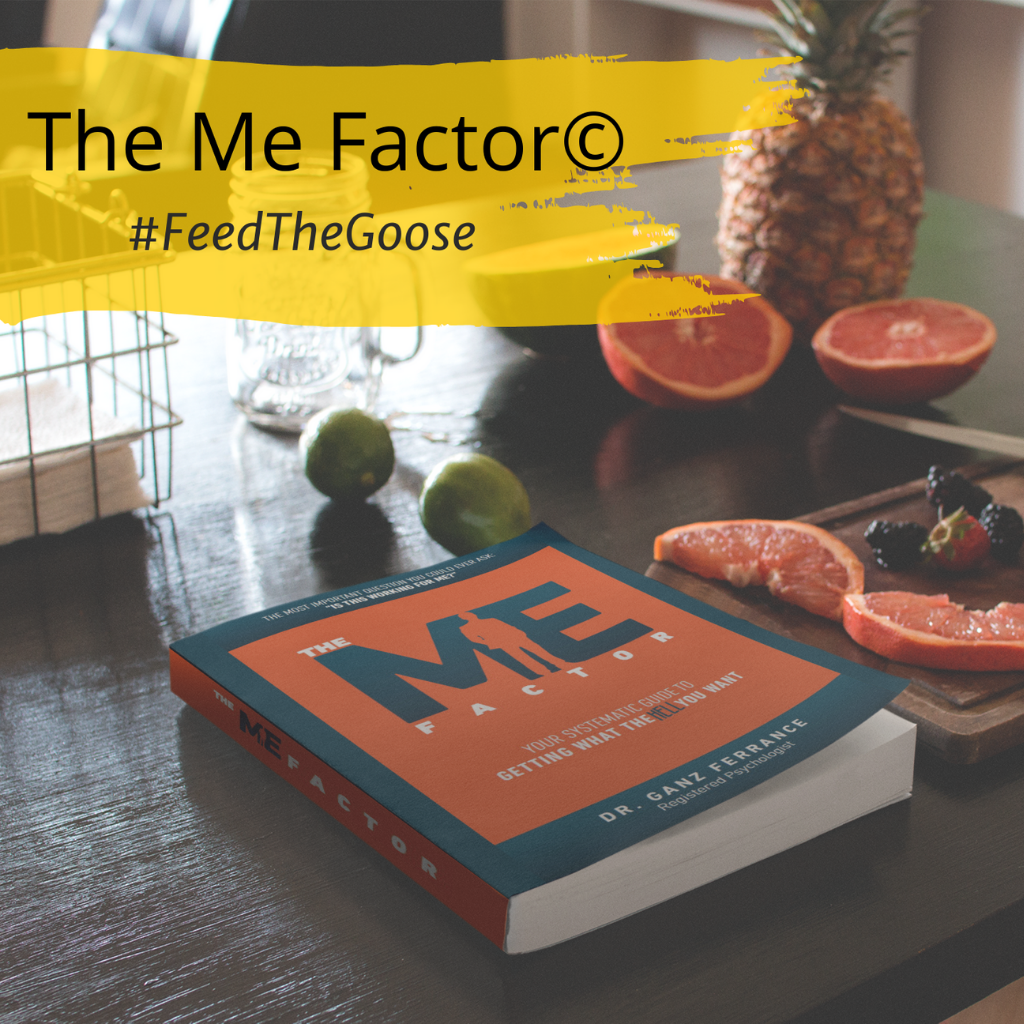 The Me Factor - by Dr. Ganz Ferrance https://askdrganz-com.myshopify.com/products/the-me-factor-a-systematic-guide-to-getting-what-the-hell-you-want